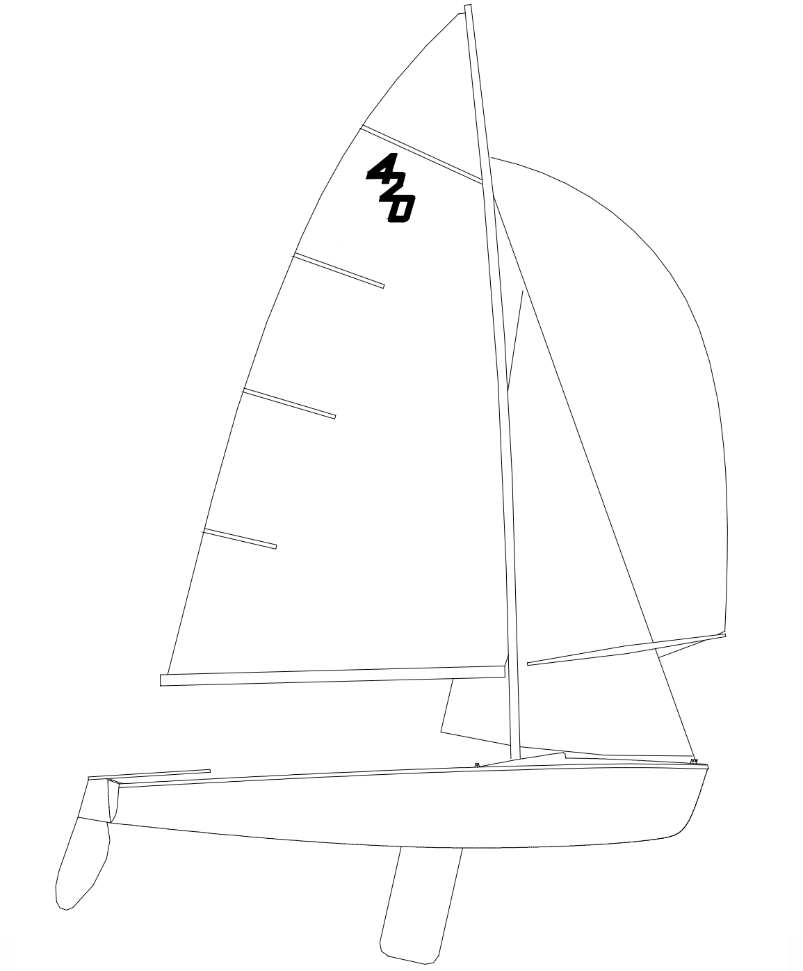 420 Class Sailboat Specifications