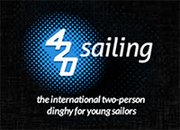 International 420 Sailing Logo
