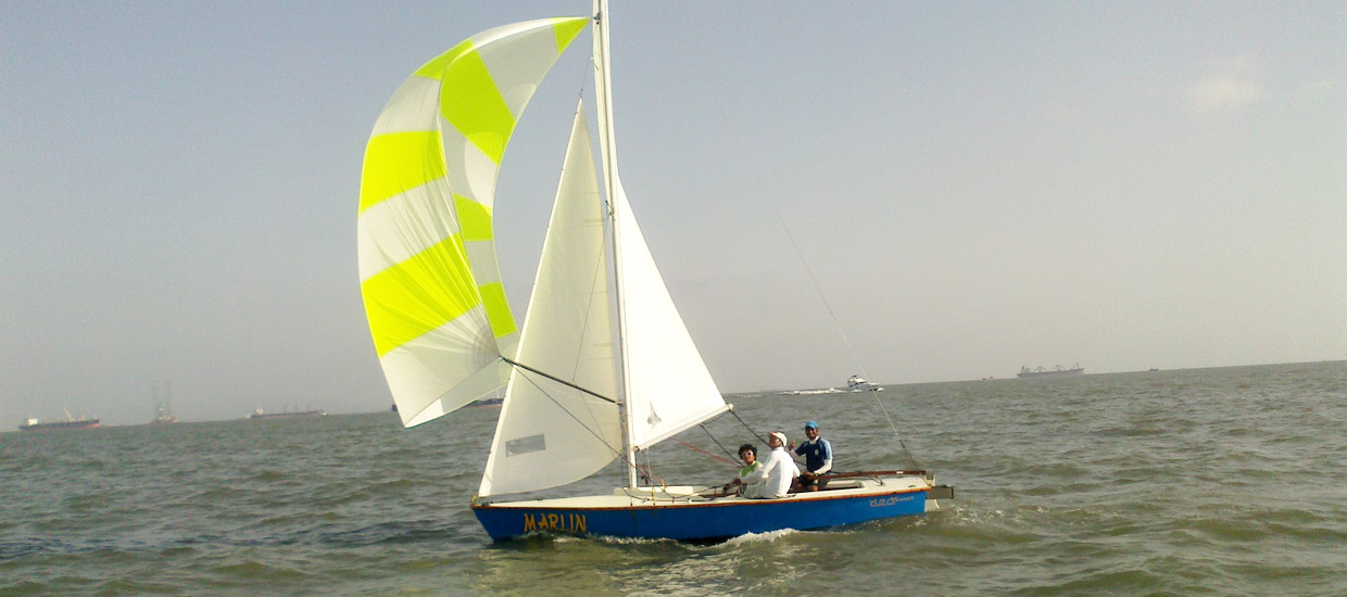 XS Marines Lightning Class Sailboat